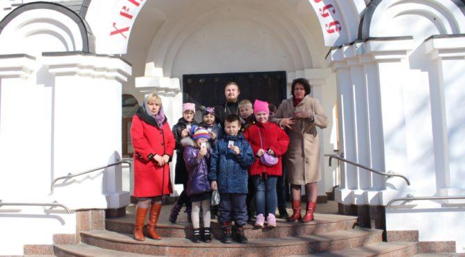 Храм Рождества Христова г. Фрязино посетили дети и педагоги городских школ