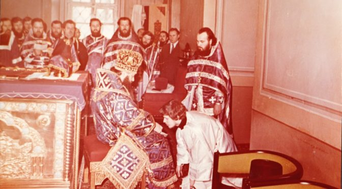 40 лет со дня иерейской хиротонии протоиерея Сергия Киселева