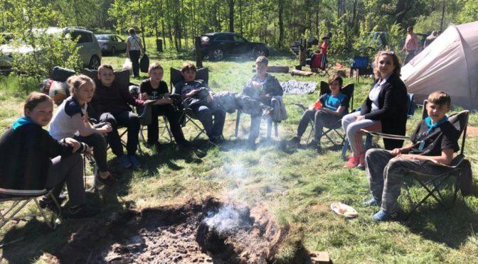 IV духовно-нравственный спортивный слет учеников школы №1 города Фрязино