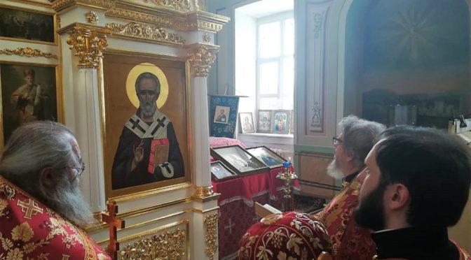 22 мая 2019 года Престольный Праздник в храме святителя Николая в с. Здехово