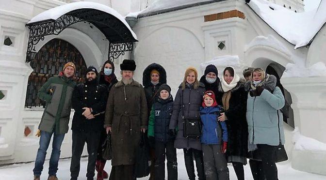 22 января 2021 года протоиерей Сергий Киселев возглавил молебен у мощей свв.блг. князей Петра и Февронии в г. Муроме