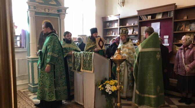 08 октября 2021 года в день преставления прп. Сергия Радонежского в храме свт. Николая Мирликийского состоялись праздничные богослужения